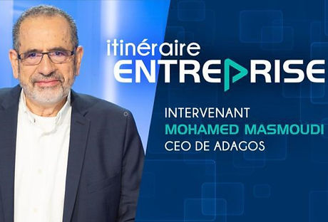 Adagos, NeurEco, Le Figaro, CEO, Mohamed Masmoudi, Itinéaire Entreprise
