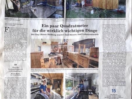 Ein weiterer Artikel der BNN über eines unserer Häuschen vom 26.08.2020