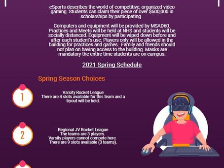 eSports Spring 2021