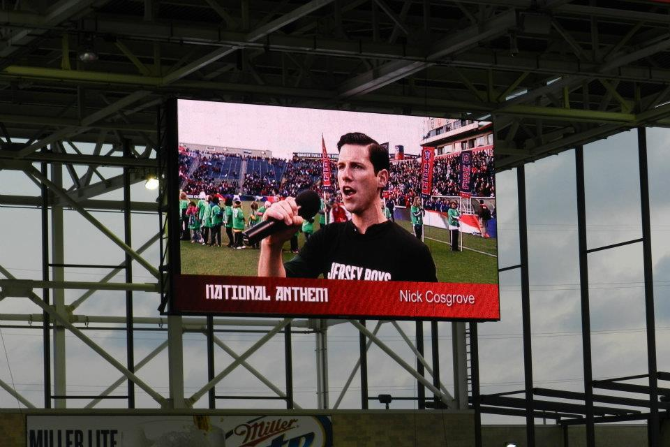 Chicago Fire National Anthem