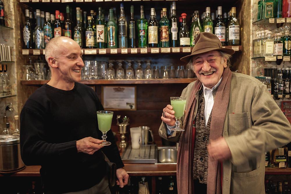 Eric Sarner avec Martial Philippi