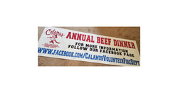 Beef Dinner Banner