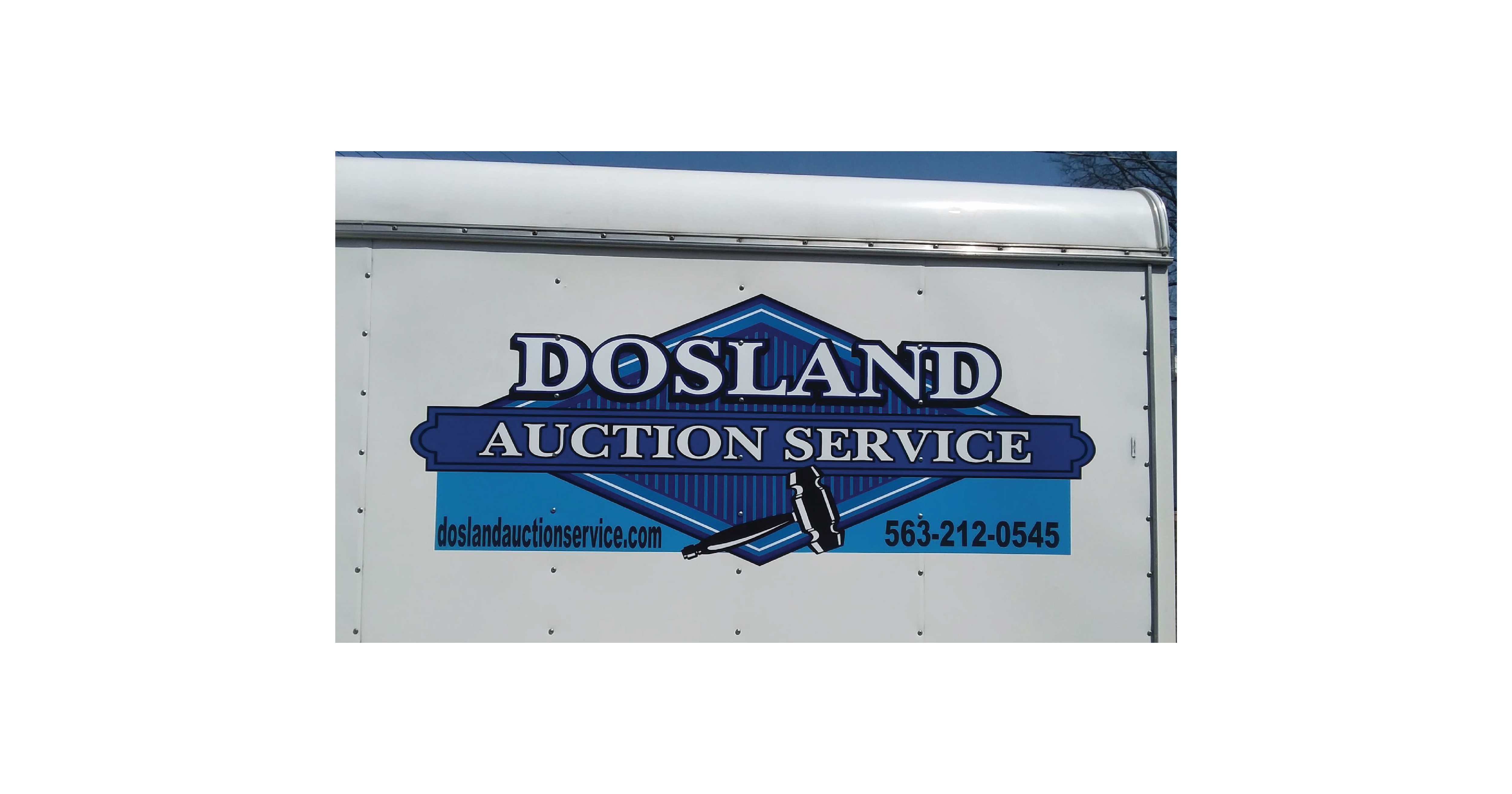 Dosland Auction Service Wrap