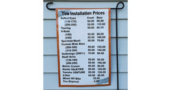 Tire Prices Banner