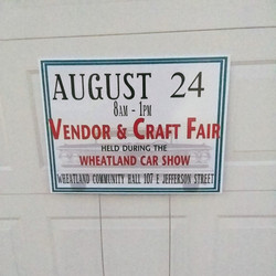 Event Sign