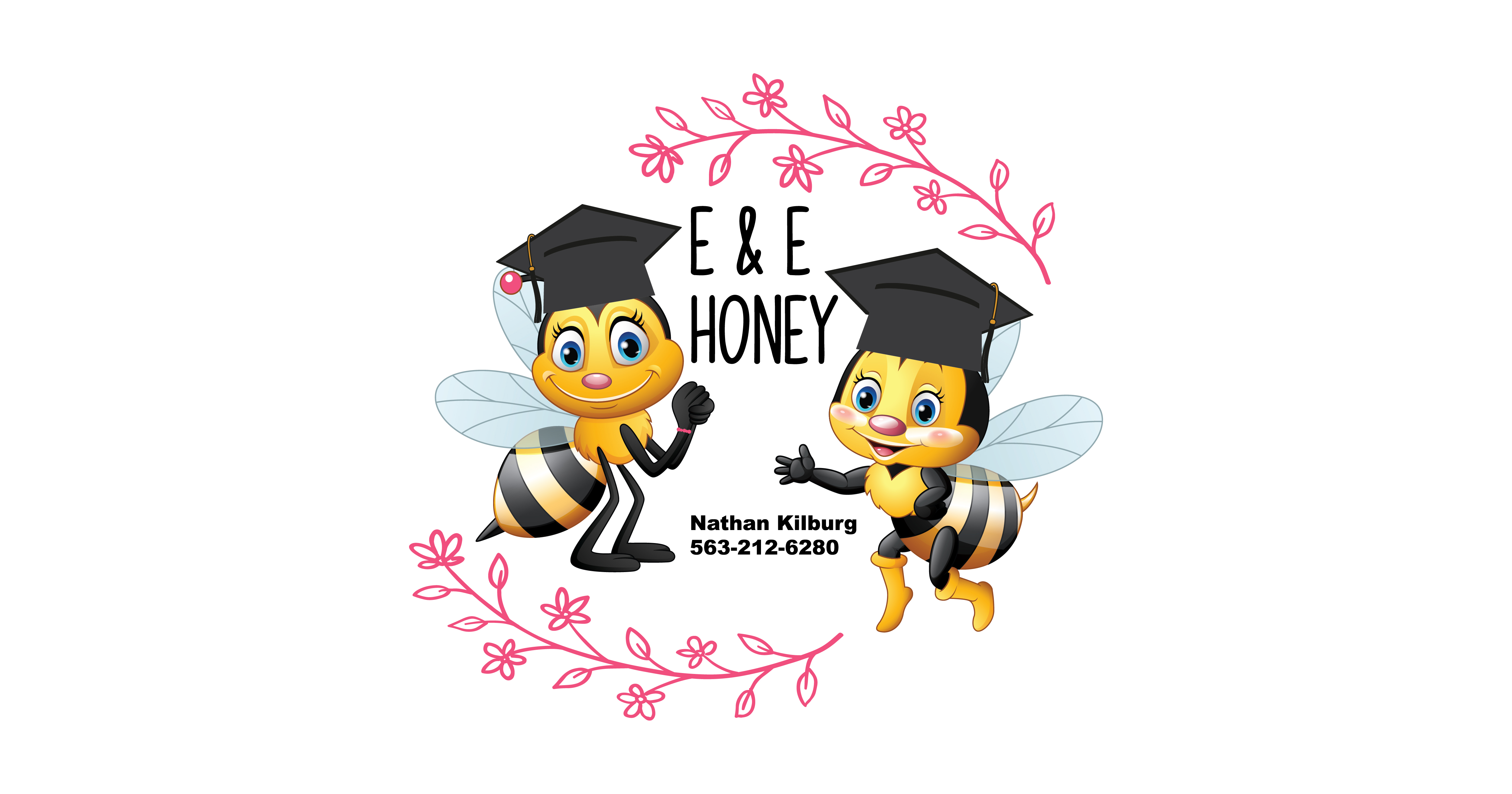 E&E Honey LOGO