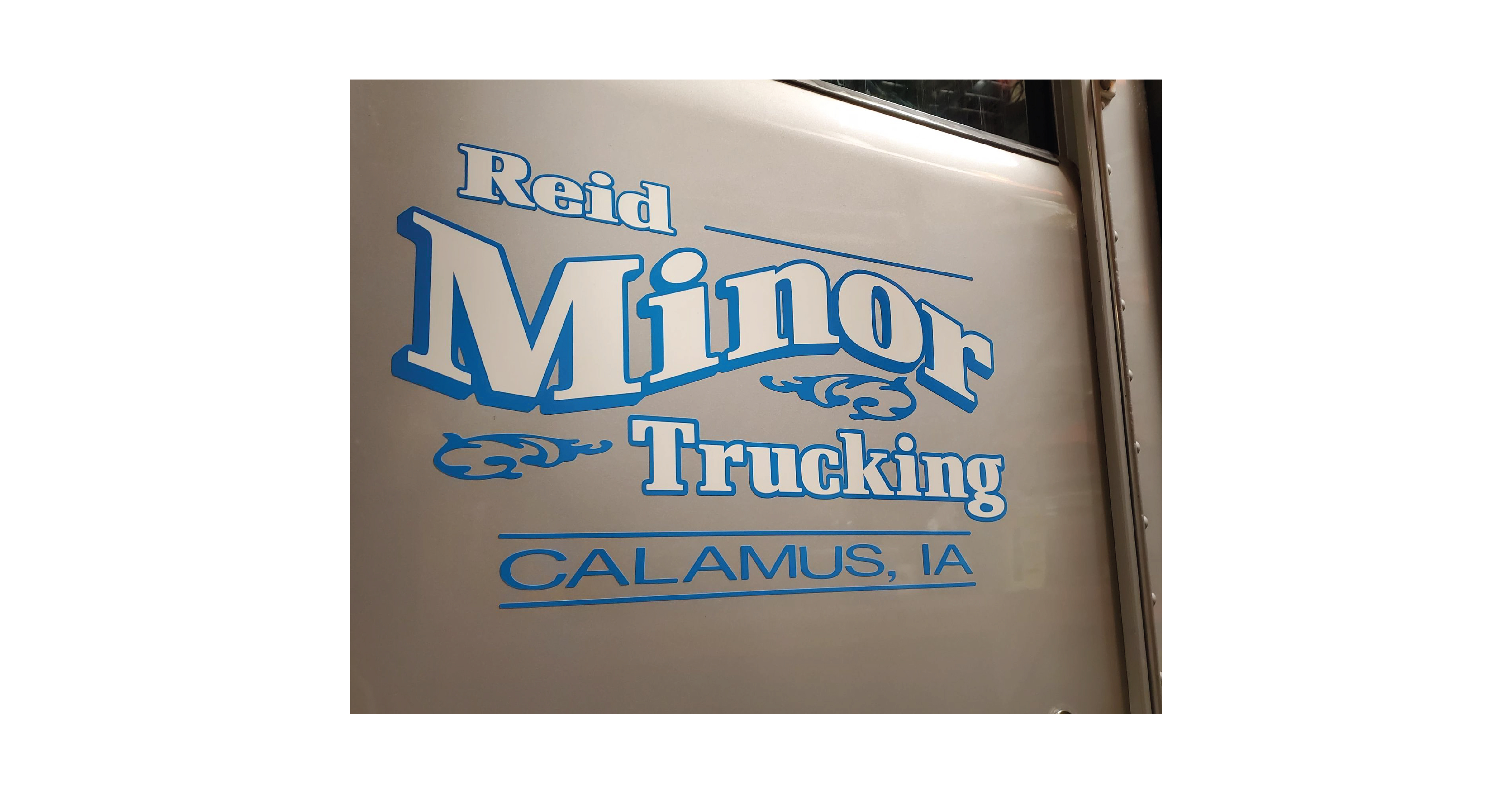 Reid Minor Trucking Wrap