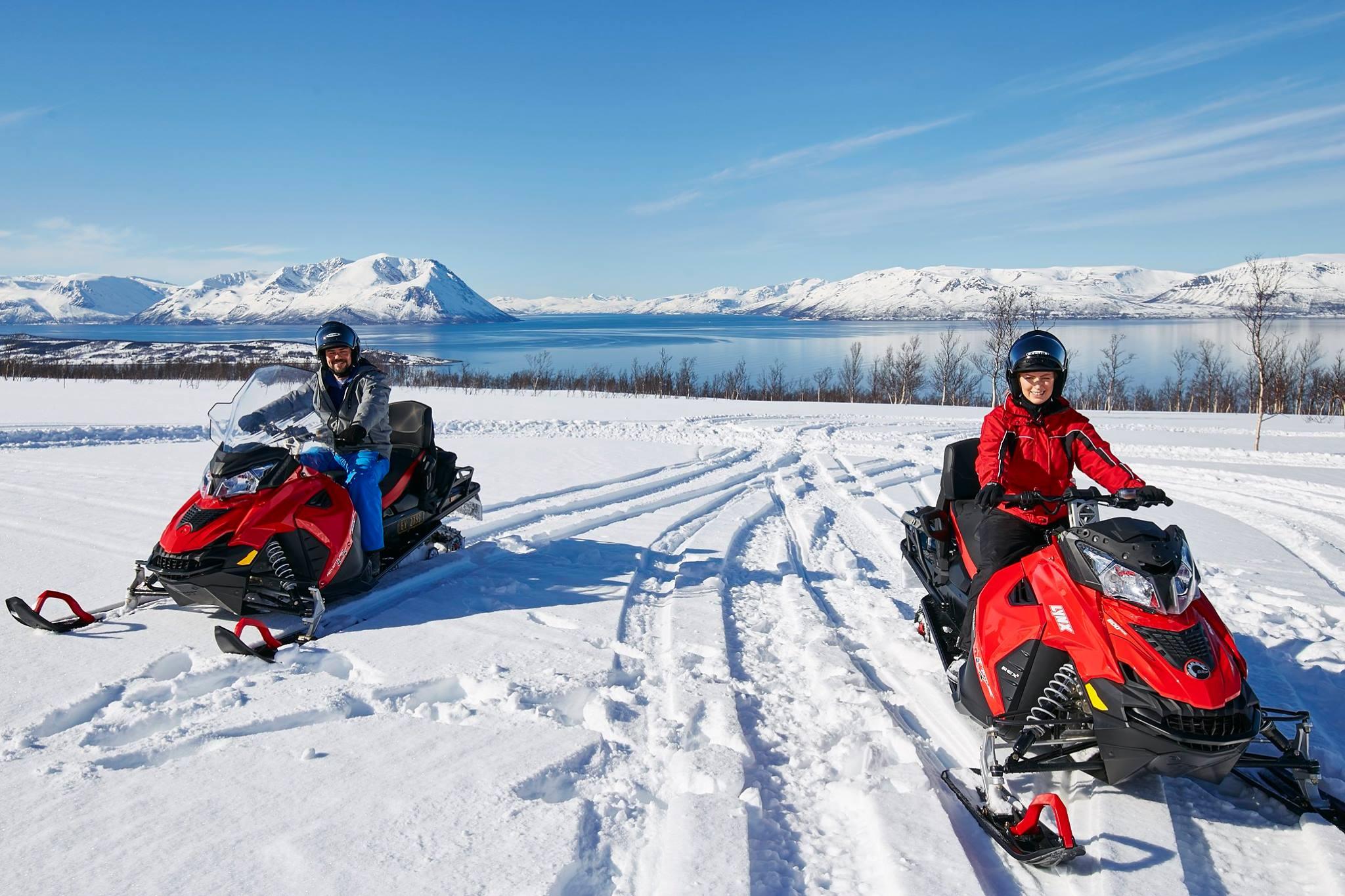 Moto de nieve Noruega (5)