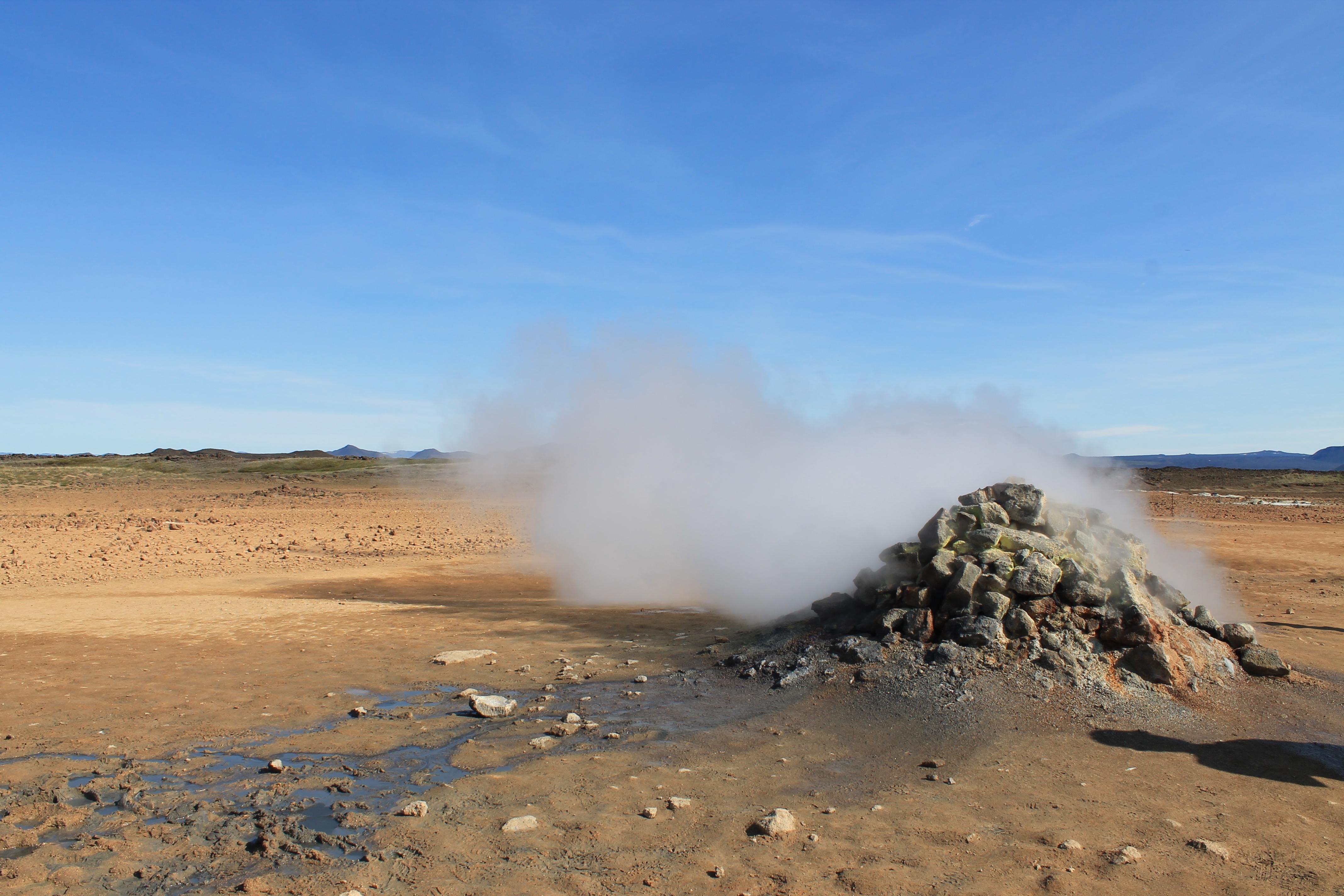 fumarola islandia