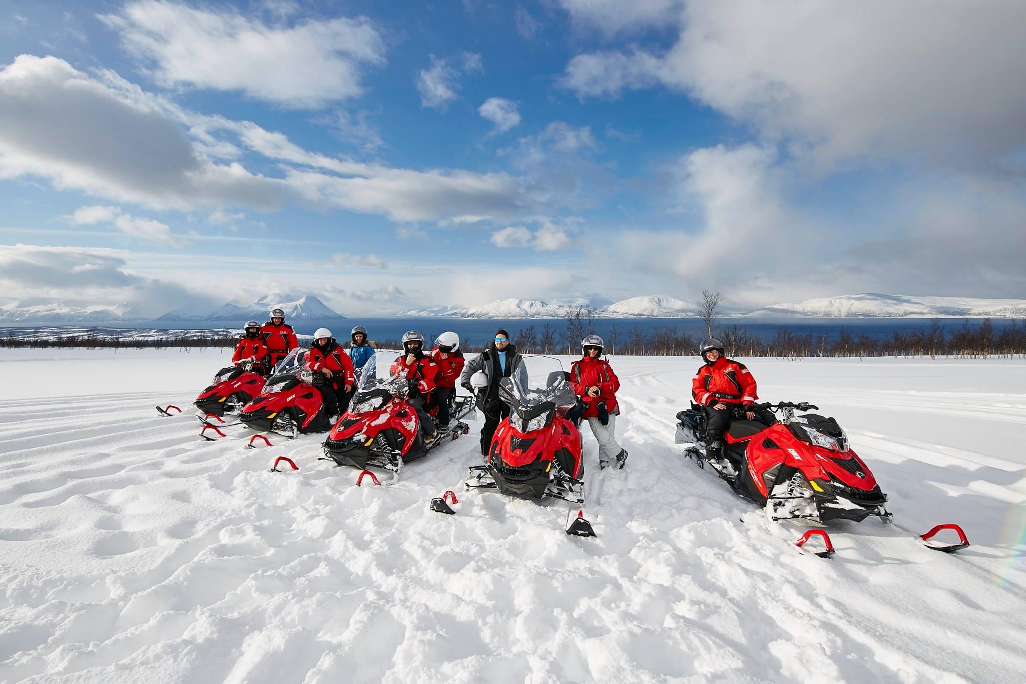 Moto de nieve Noruega (1)