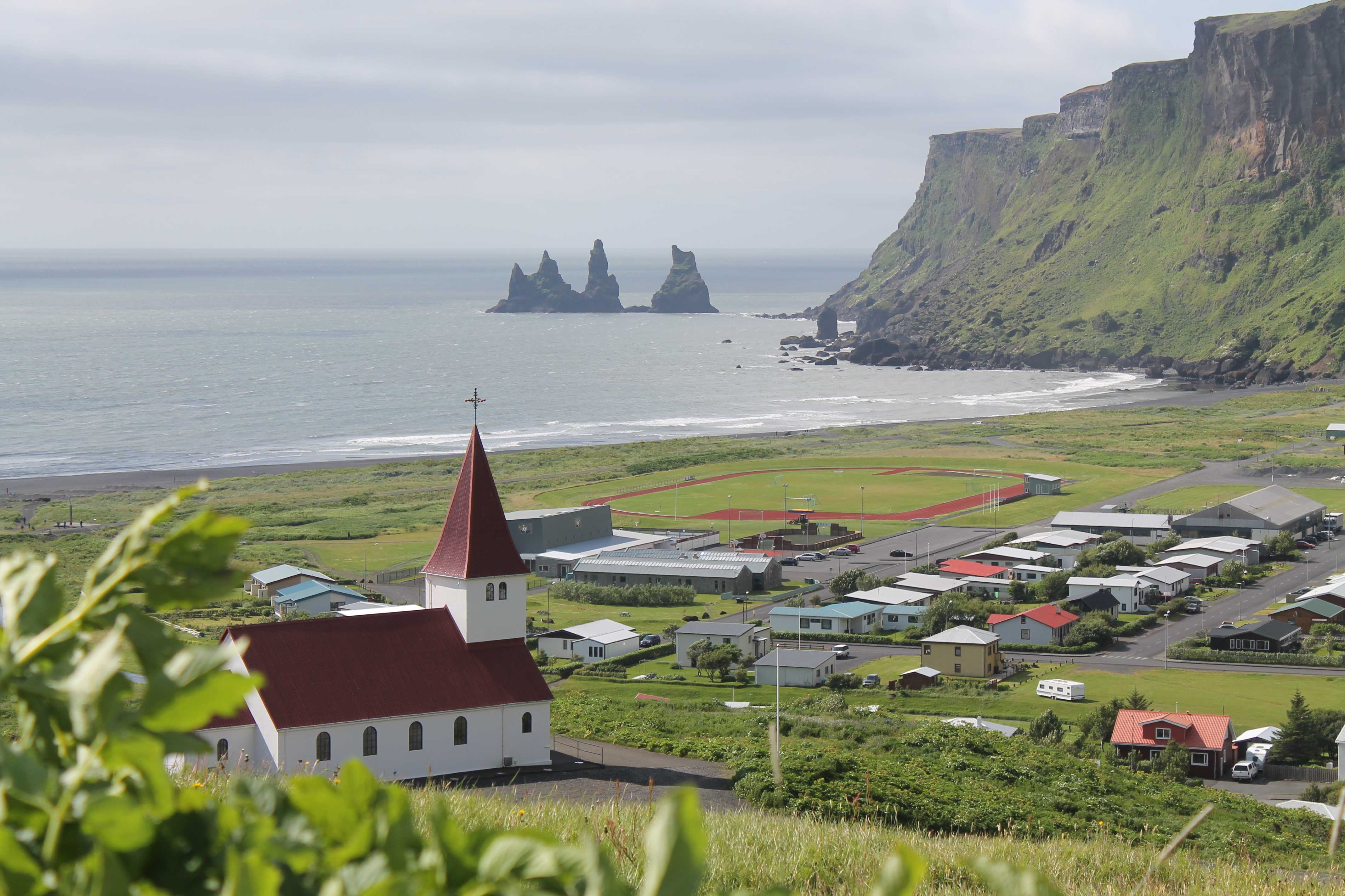 vik foto islandia