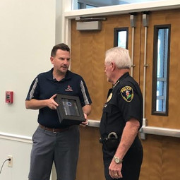 Retirement Award For Chief Kerr