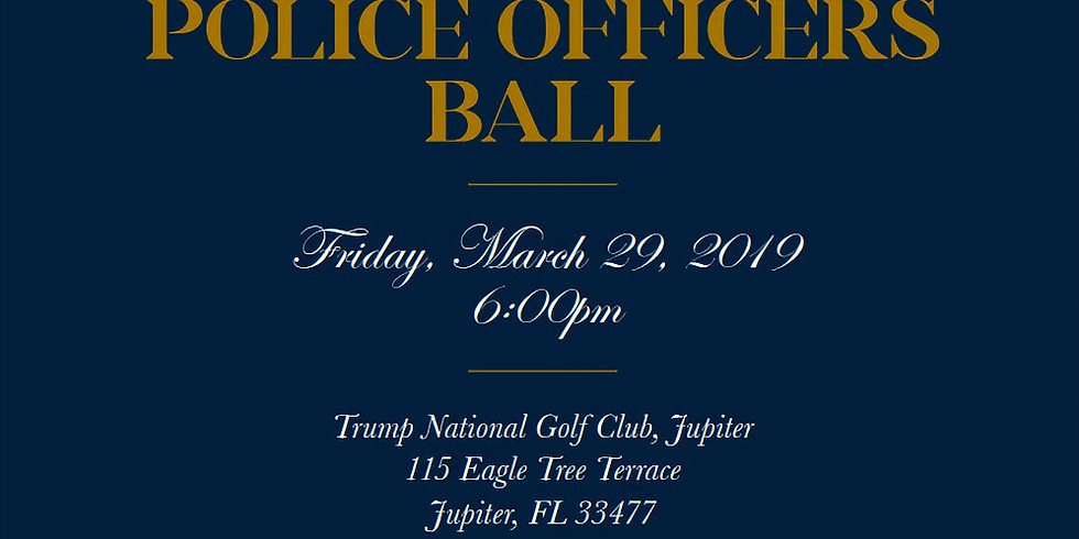 Jupiter Police Foundation Inaugural Police Officers Ball