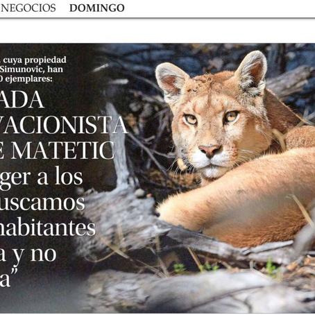 """Reportaje """"El Mercurio"""""""