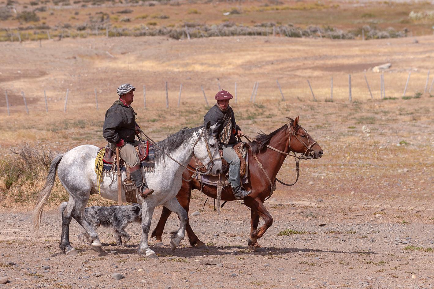 Gauchos, Estancia Cerro Guido