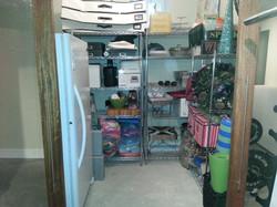 Basement Storage After