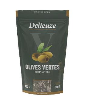 Sachet doy pack olives vertes dénoyautées 320 g