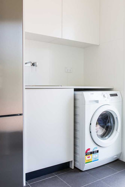 Laundry sink and washing machine