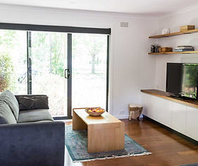 lounge room renovation in Canberra