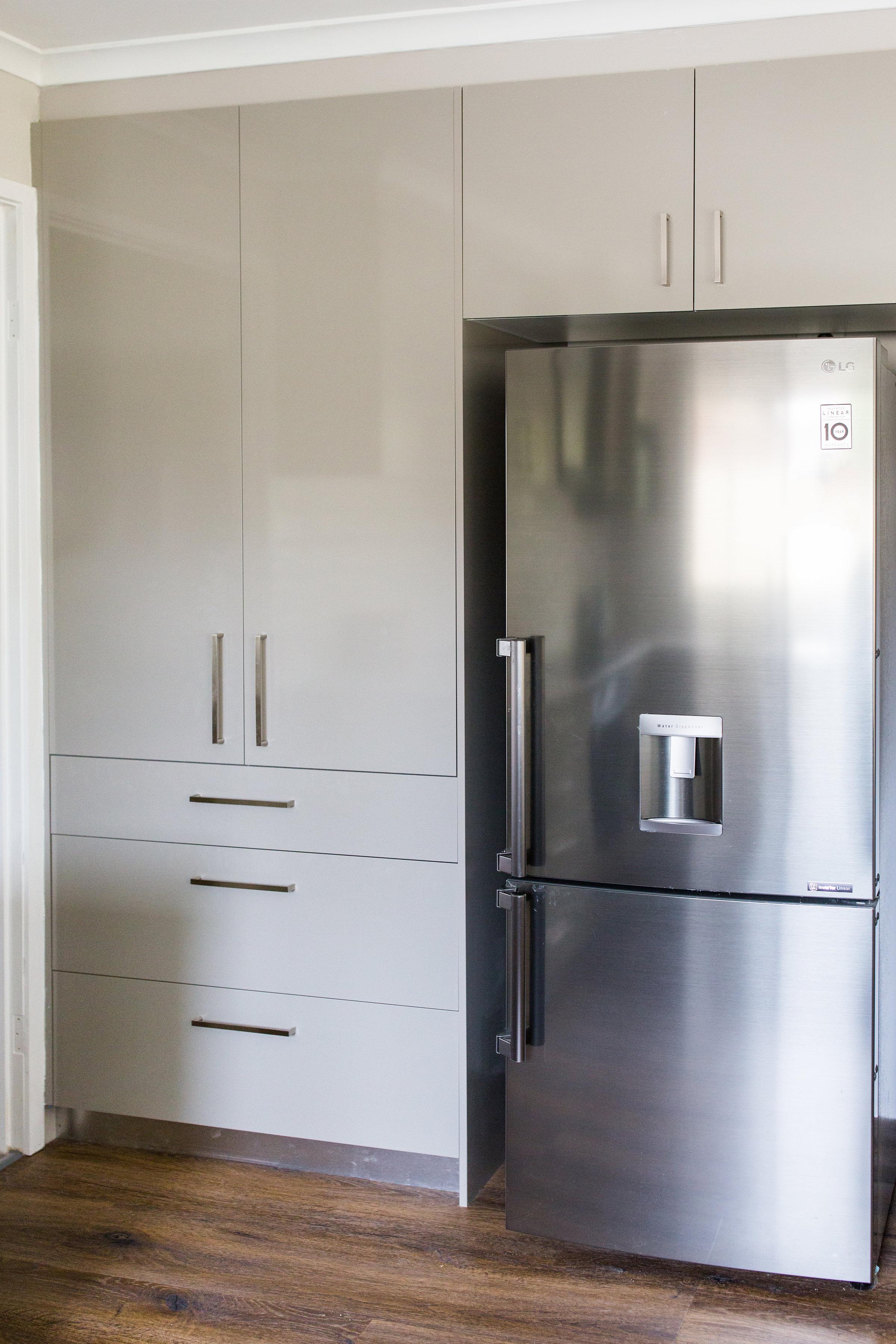 fridge and pantry