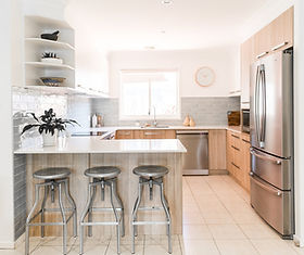 renovated kitchen in Canberra