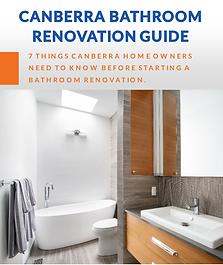 canberra bathroom reno guide