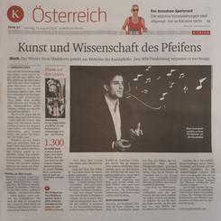 Sonntagsausgabe Kurier Österreich