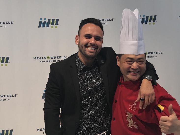 Chef Tony Wu & I