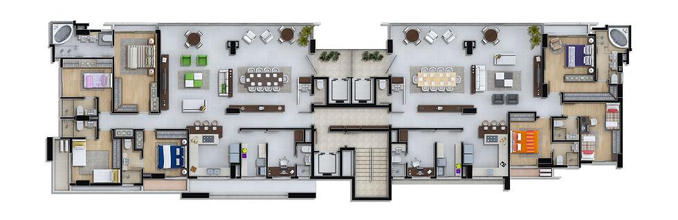 Marina Beach Tower  47  98873-7373