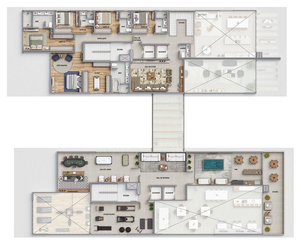 Brava Villi Soul Residence |47| 98873-7373