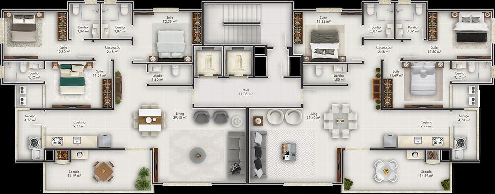 Nizuc Residence |Itapema| (47) 98873-7373