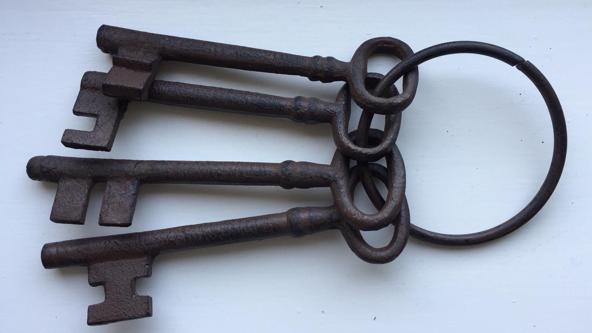 Toll Keepers keys