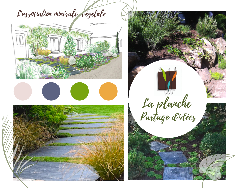 #ınstagardenlovers #gardendesigner #gardening #garden #moodboardgarden #moodboard #nature #terrasse #beautifulgarden #nice #beauty #greengarden #flowersgarden #smallgarden #minerals #mineralgarden #idées #Partage