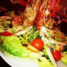 Salade fresh up aux ouassous braisés