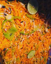 Crudi giraumon au citron