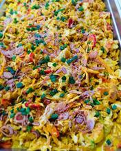 Salade de poulet aux choux braisés aux s