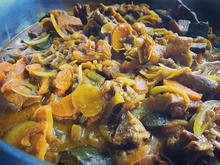Sauté de porc aux légumes saveurs asiati