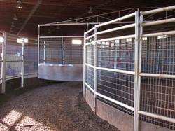 Indoor 6 horse wheel