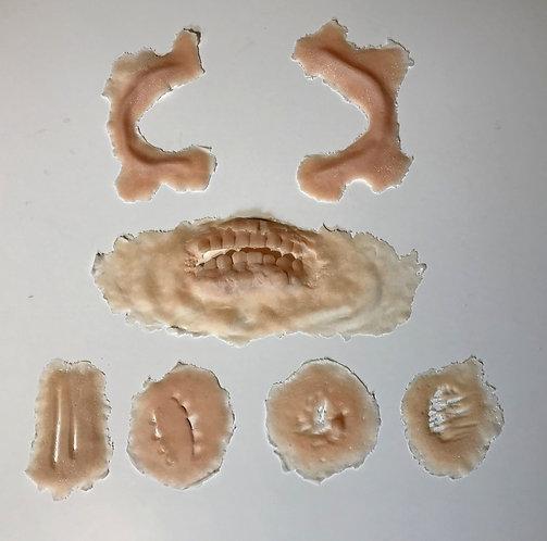 Zombie prosthetic set - Version1