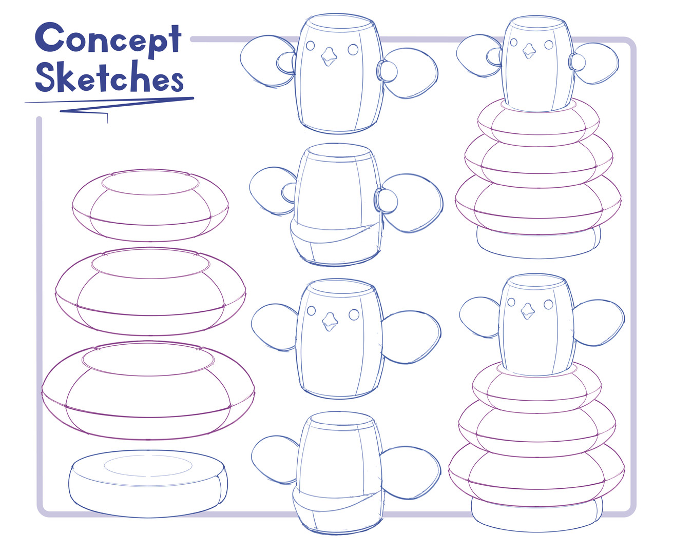 Chickpeas concept boards ideation sketch