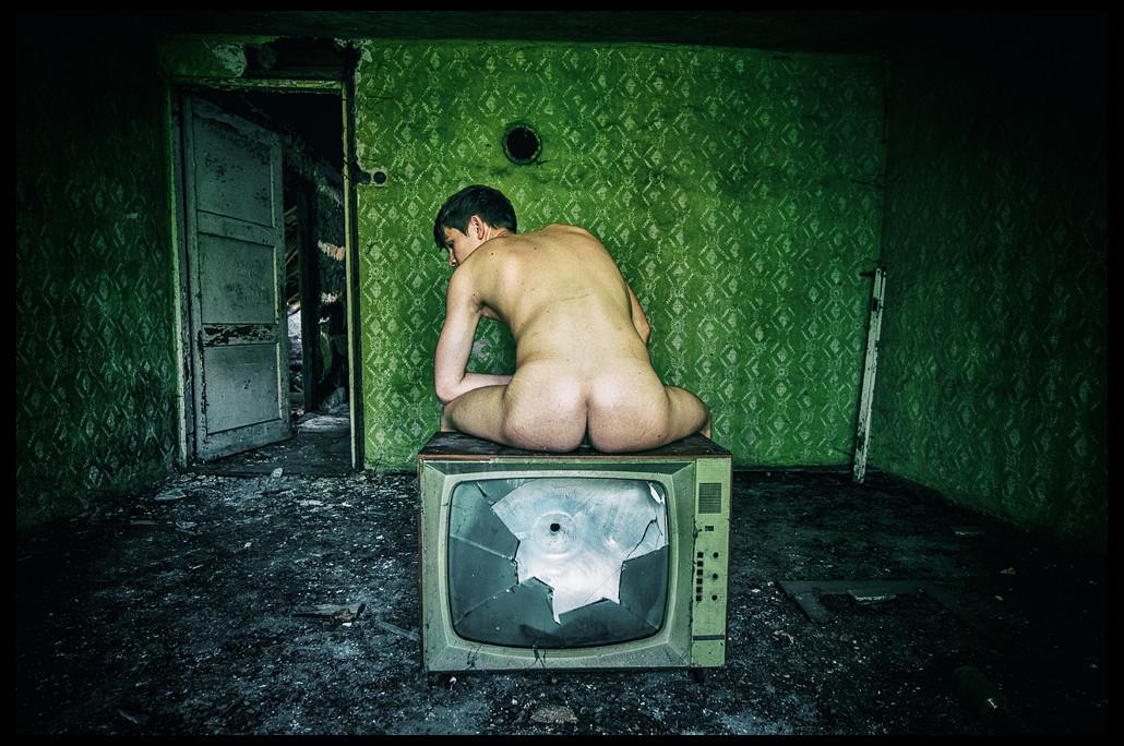 Wypierdoliłem telewizor.