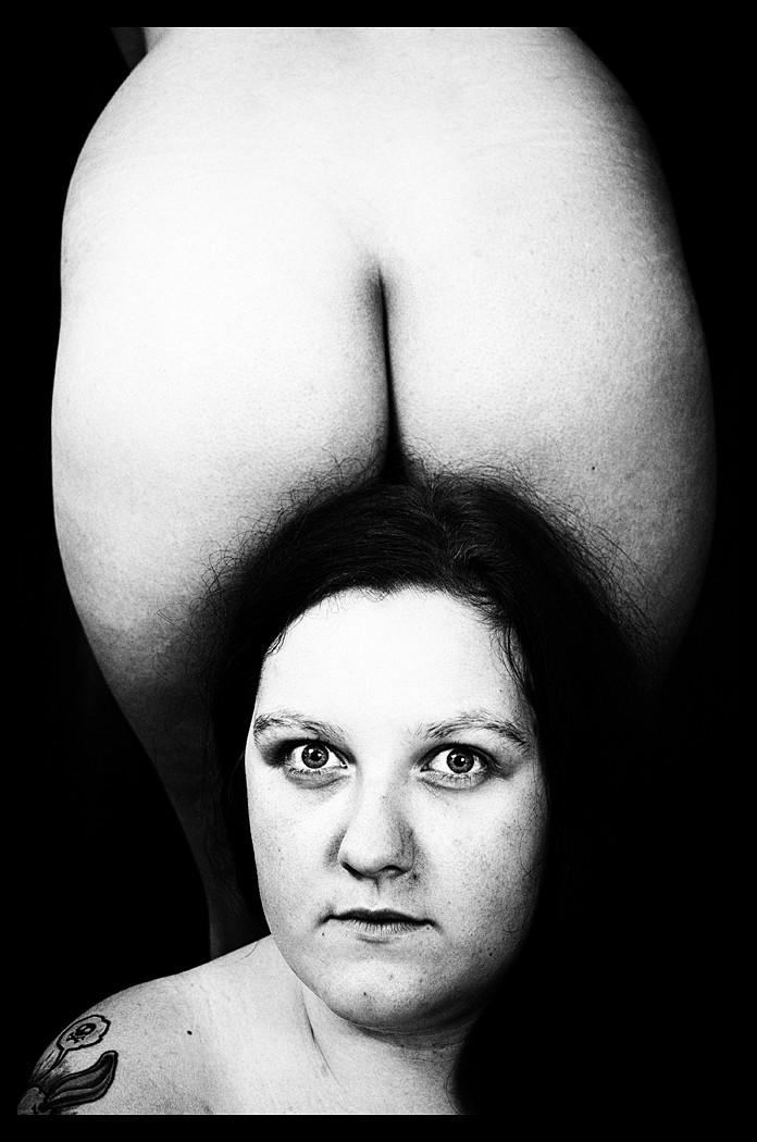 Portret z dupą.
