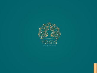Yogis.yoga.brand.logo.design.business