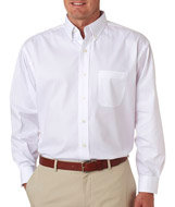 8360-UltraClub Men's Long-Sleeve Pinpoint-Inspire