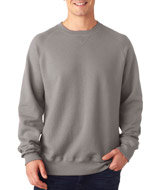 N260 -Hanes Adult nano Crew Neck Fleece- Inspire