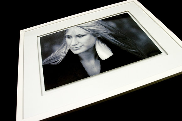 """One 12"""" x 18"""" individual photograph hand framed and set within a floating space"""