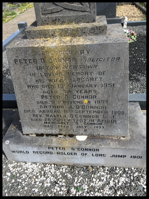 Peter O'Connor's Grave, Waterford