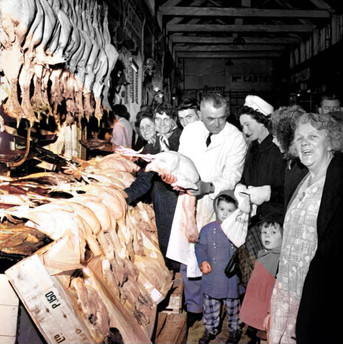 Turkey Shopping English Market 1964
