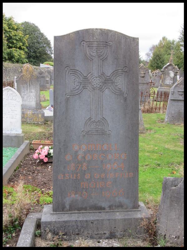 Daniel Corkery's Gravestone