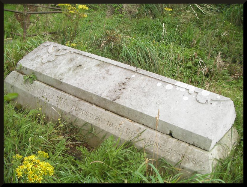 Final resting place of Mary Laura Marriott Cross